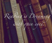 Picture quote: Reading is dreaming with your eyes open